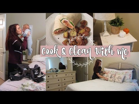 COOK & CLEAN WITH ME | DAY IN THE LIFE OF A HOMEMAKER | CLEANING MOTIVATION