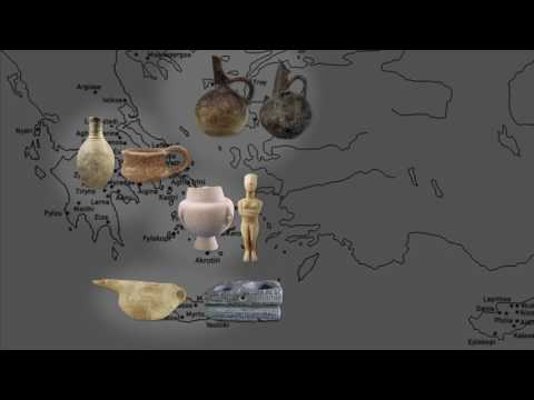 Greek history - Early Bronze Age  (3200-2000 BC)