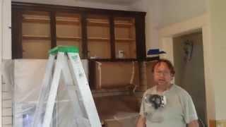 Refinishing Oak Kitchen Cabinets In Espresso At Timeless Arts Refinishing