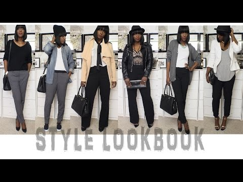 Style Lookbook| Pairing Slacks (Minimalist Wardrobe)