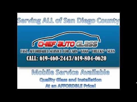 Auto Glass San Diego- Auto Glass Repair San Diego- Windshield Replacement San Diego County