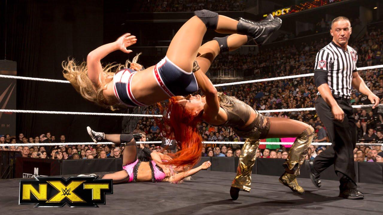 Charlotte vs. Becky Lynch vs. Emma vs. Dana Brooke: WWE NXT, Aug. 26, 2015 #1