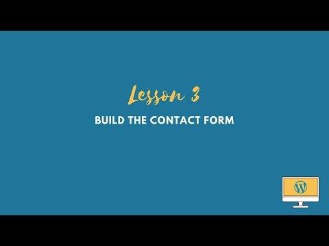 WordPress Plugin Tutorial: Build the Contact Form thumbnail
