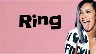 Download Cardi B - Ring feat. Kehlani (Lyrics)