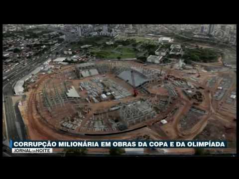 Corrupção Milionária Em Obras Da Copa E Olimpíada