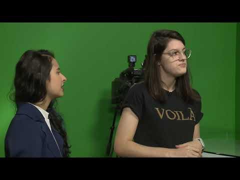 """Curta Na TV   Entrevista Julia Trombini E Tayná Lopes E Curta """"Assíncrono"""""""