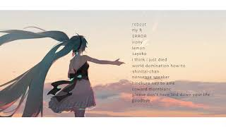 depressing vocaloid songs to commemorate this horrid year | a messy playlist