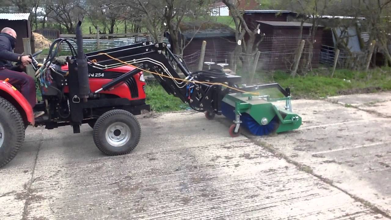 Foton Compact Tractor Attachments Front Mounted Brush