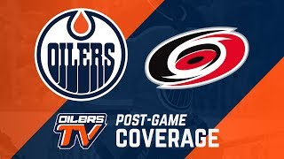 ARCHIVE Oilers Post-Game Interviews vs. Carolina