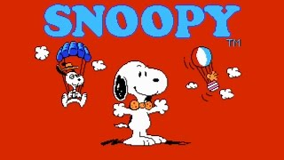 Snoopy's Silly Sports Spectacular! (NES) Playthrough