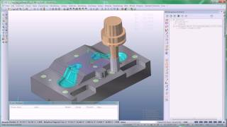 VISI Machining - Produktvideo ''3-Achsen Bearbeitung - Schruppen''