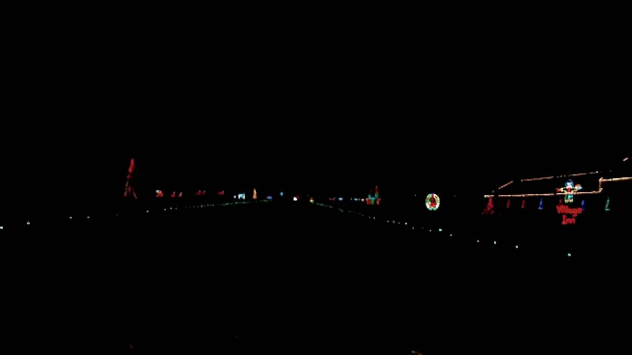 2013 Holiday Light @ Finley River Park, Ozark, MO - YouTube