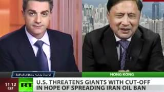 Build up to World War 3 : OBAMA to sanction CHINA for buying IRAN OIL