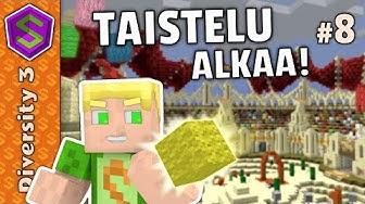 Areena täynnä vihollisia! | Minecraft Diversity 3 #8