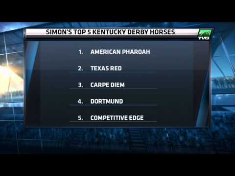 Top 5 Kentucky Derby Horses | Simon Bray