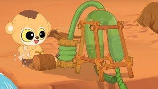 Юху и его друзья –Пустынный рай 2 - сезон 1 серия 12 – обучающий мультфильм для детей