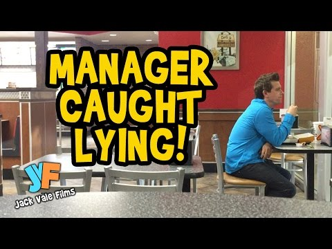 Manager Caught Lying About Finding Money!