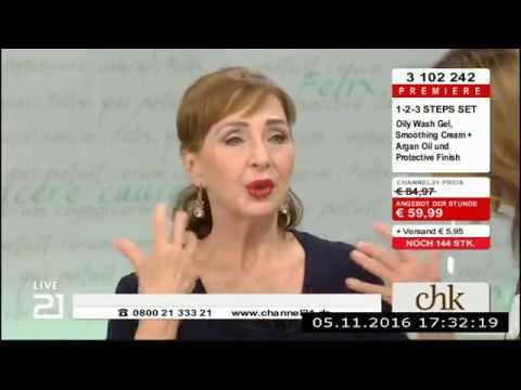 Christine Kaufmann bei Channel21 am 05.11.2016 - Teil 4
