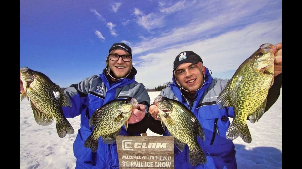 Biggest ice fishing show in the world youtube for Mn ice fishing show