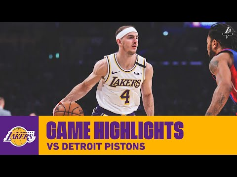 HIGHLIGHTS | Alex Caruso (13 Pts, 3 Ast, 3 Reb) Vs. Detroit Pistons