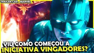 CAPITÃ MARVEL TRAILER 3 - ANÁLISE COMPLETA