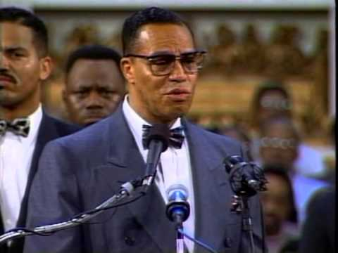 Louis Farrakhan: The Pain of Being a Black Man in White America Part 1