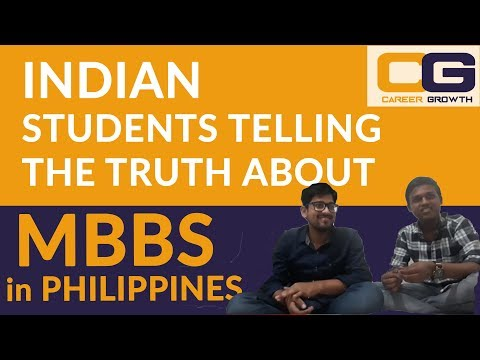 Indian Students telling truth about MBBS in Philippines