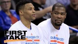 Should Russell Westbrook Forgive Kevin Durant? | First Take | May 9, 2017
