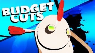 Throwing Scissors at Robots in VR! - Budget Cuts Gameplay - VR HTC Vive Pro
