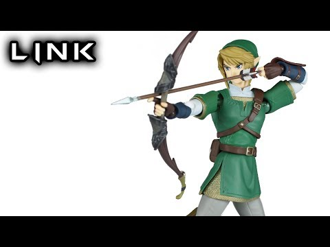 Figma LINK The Legend of Zelda: Twilight Princess Action Figure Toy Review