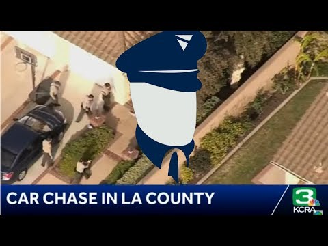 Armed robbery turns into deadly police chase!