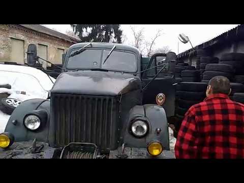 ГАЗ-63 дизель Mercedes Om314. Небольшой тест-драйв