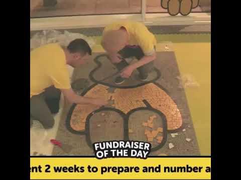 BBC Children in Need mosaic