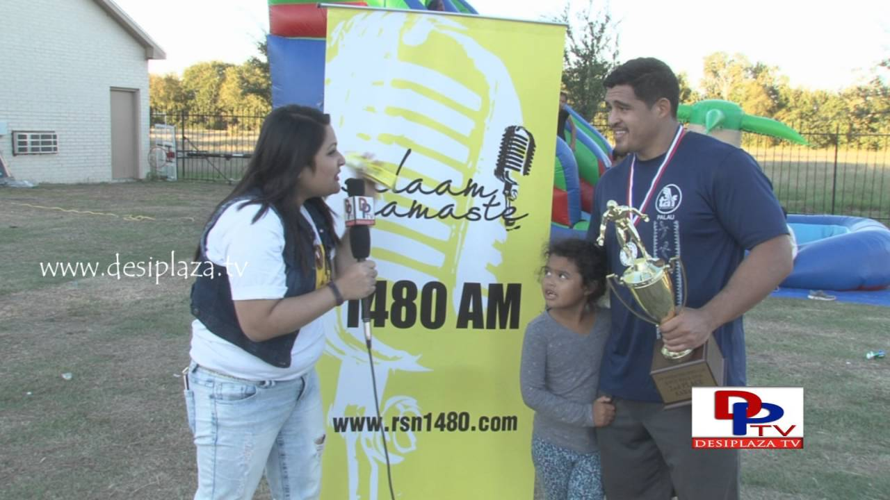 Open Kabaddi Runner-up paricipant talking to Desiplaza in Salam Namaste promotions