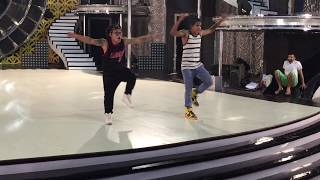 Ruel Dausan Varindani with Tushar shetty | I am Hip Hop crew | So You Think You Can Dance