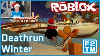Roblox Deathrun Winter (DASHING THROUGH THE SNOW, AWAY FROM THE HAND OF DEATH!!)