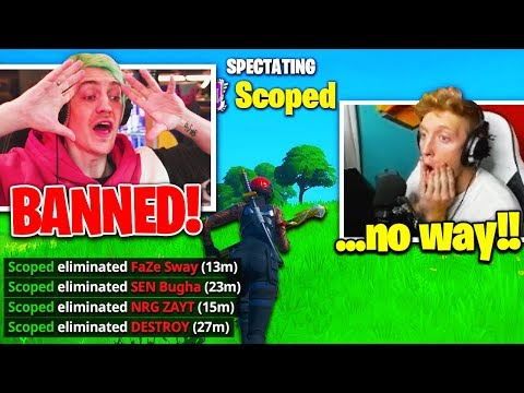 NINJA *BANNED* FOREVER! TFUE *NEW DUO* Vs. FaZe SWAY & BUGHA! (Fortnite)