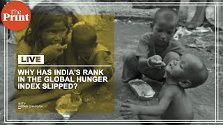 Why has India's rank in the Global Hunger Index slipped?
