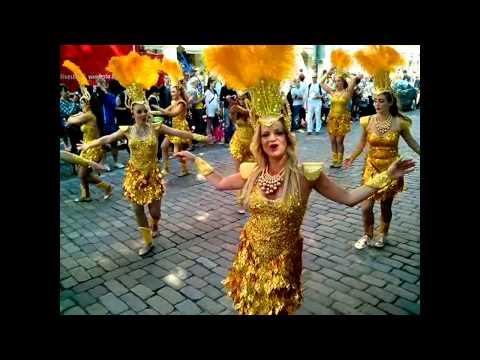 Карнавал самбa в Хельсинки - Helsinki samba carnaval 2014