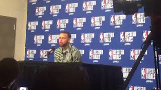 Stephen Curry fine with Chris Paul's shimmy on him