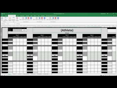 Advanced Template Create Display Sheet