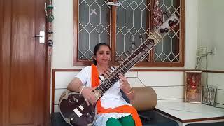 Jana Gana Mana - National Anthem - Sitar Cover - Monika Paurana