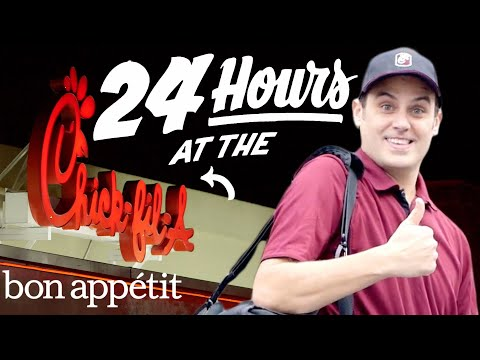 Working 24 Hours Straight at Chick-fil-A | Bon Appetit<a href='/yt-w/u6TFP_r2oA8/working-24-hours-straight-at-chick-fil-a-bon-appetit.html' target='_blank' title='Play' onclick='reloadPage();'>   <span class='button' style='color: #fff'> Watch Video</a></span>