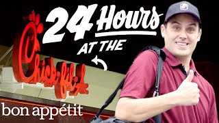 Working 24 Hours Straight at Chick-fil-A | Bon Appetit thumbnail