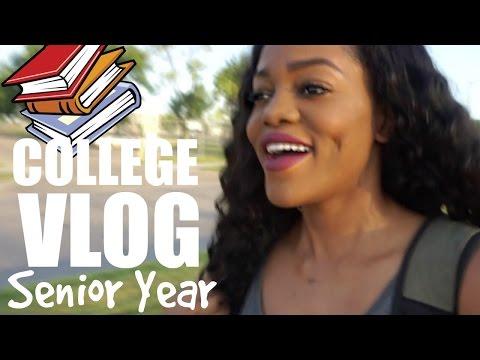COLLEGE VLOG #1 Senior Year of Nursing School | Luchi Loyale