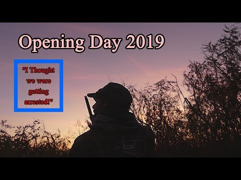 2019 Oregon DUCK HUNT Opener (STOPPED BY POLICE!)
