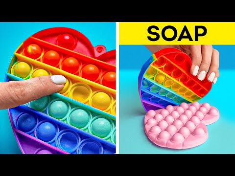 POP IT! Incredible DIY SOAP Ideas You Can Make At Home 🧼
