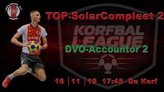 TOP/SolarCompleet 2 tegen DVO/Accountor 2, zaterdag 16 november 2019