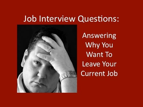 job interview questions answering why are you looking for a new job in a job interview - Why Are You Looking For A New Job