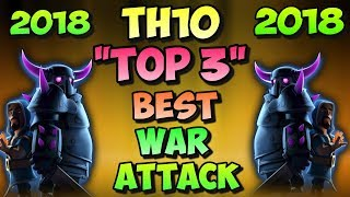 """""""TOP 3 BEST"""" War Attack Strategy After 2018 Winter Update 